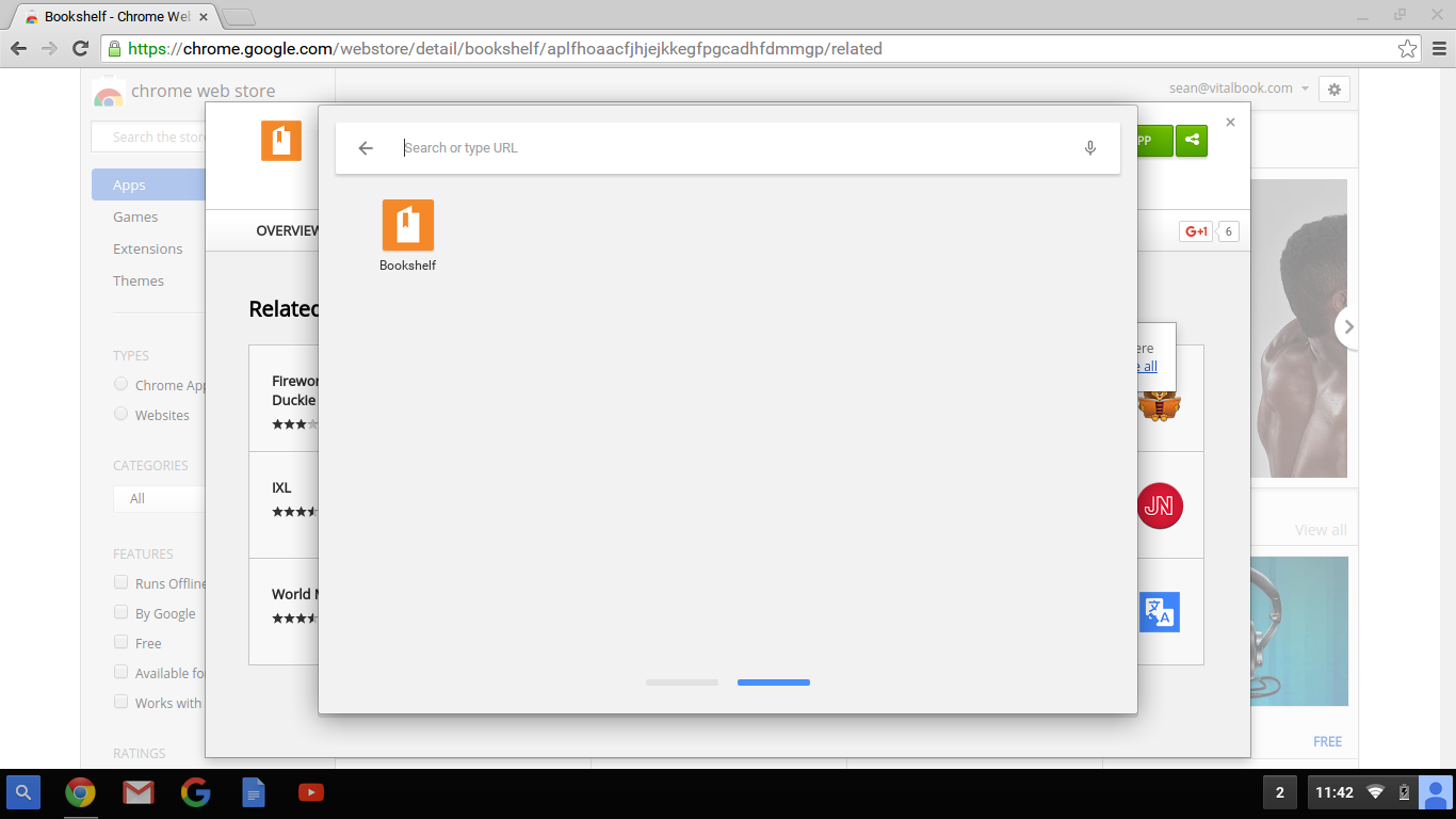 Installing Bookshelf on Chromebook – eVantage
